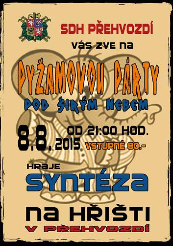 Pyžamová párty 2015